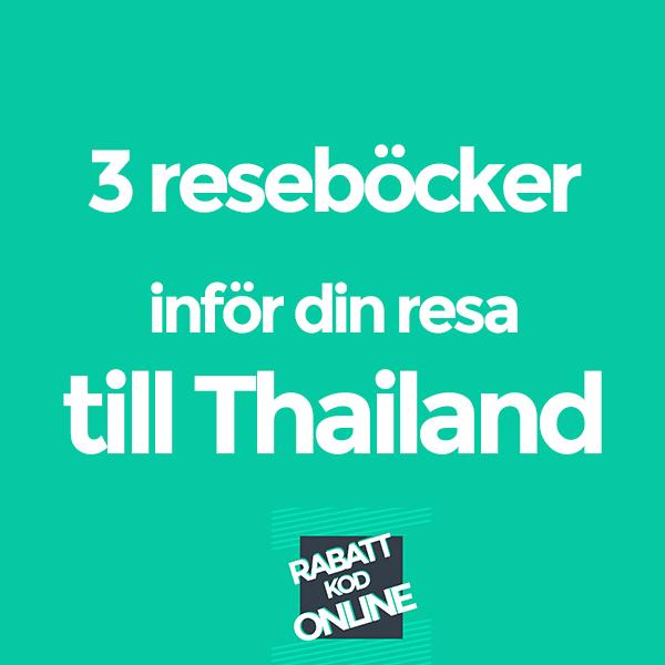 Resa till Thailand bok